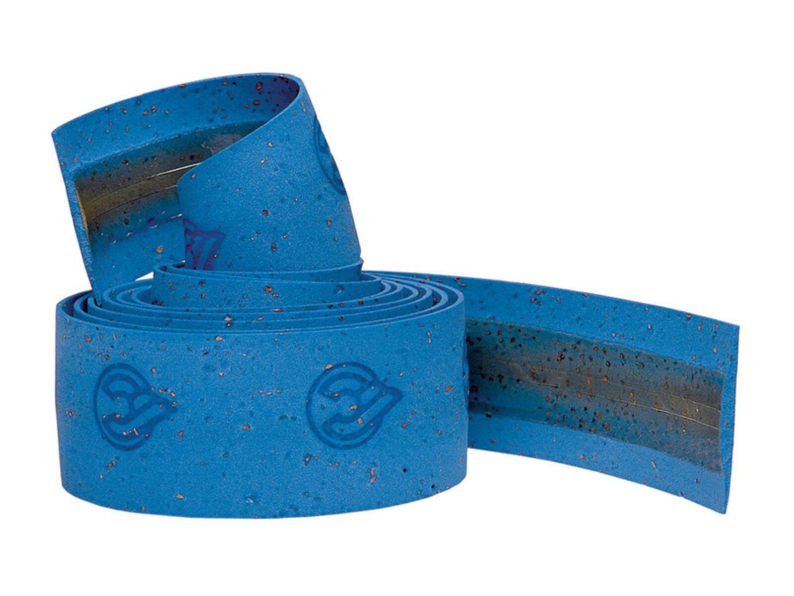 Cinelli Gel Cork Ribbon, blue - Lenkerband 70600081