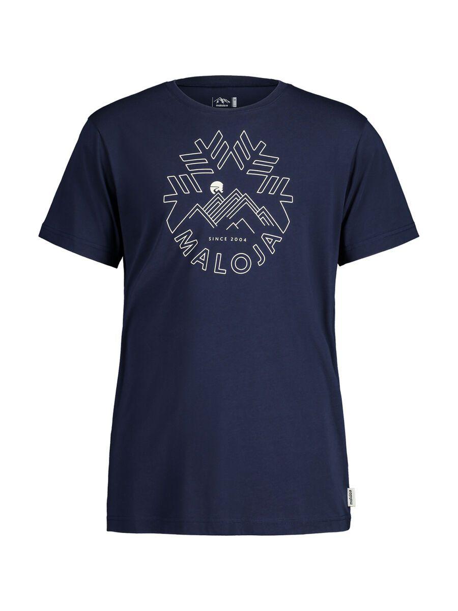 Maloja ChuzamM., night sky - T-Shirt, Größe S 30503-1-8325-S