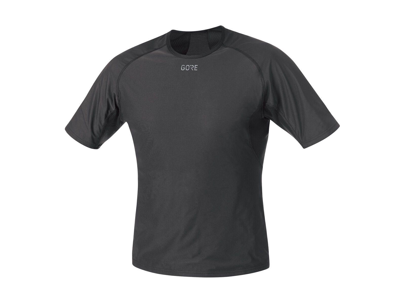 Gore Wear M Gore Windstopper Base Layer Shirt, black - Unterhemd, Größe XL 100024990006