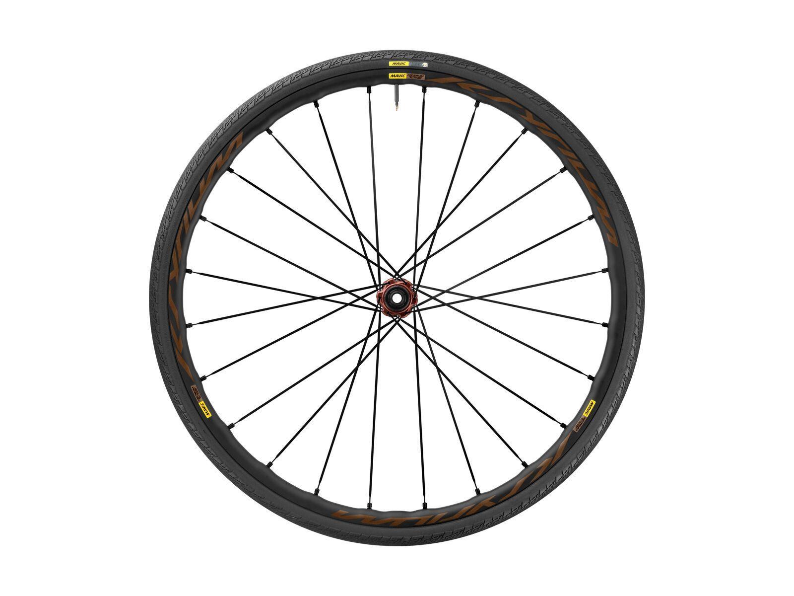 Mavic Ksyrium Elite Disc Allroad Center-Lock, black - Vorderrad, Größe 28 mm Reifen F5990128