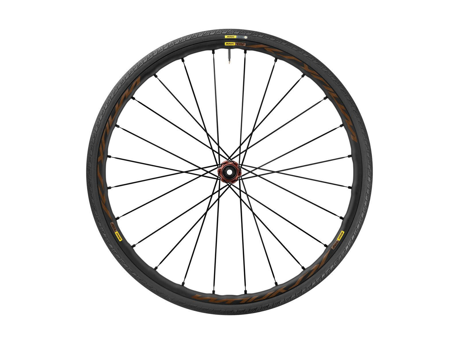 Mavic Ksyrium Elite Disc Allroad Center-Lock - 12x100 mm, inkl. 28C Reifen black 12x100 F5990128
