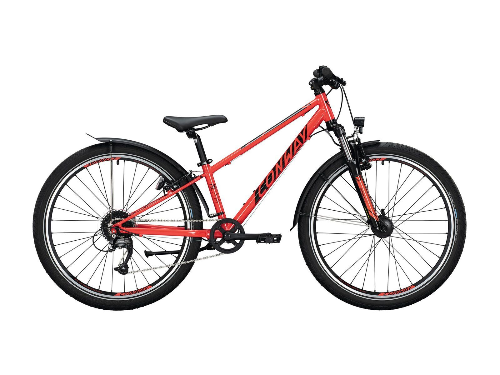 Conway MC 260 Suspension 2021, red/black - Kinderfahrrad, Größe 31 cm 02875623