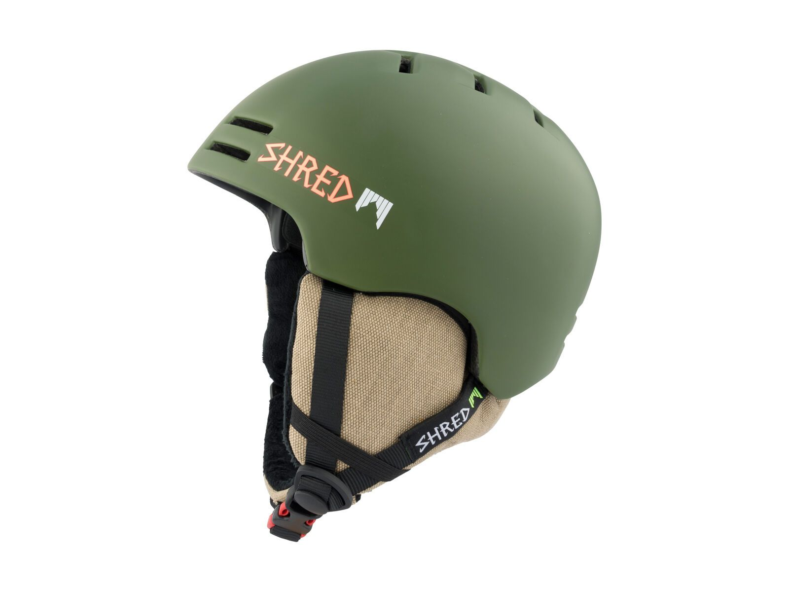 Shred Slam-Cap, woodland - Skihelm, Größe S // 51.5-55.5 cm DHESLCG42-S