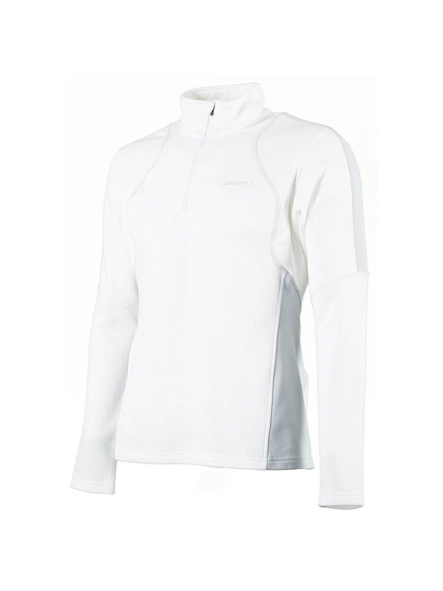 Craft 2 Layer Shift Shirt, White/Platin - Funktionsshirt, Größe XL 194627-1290-42