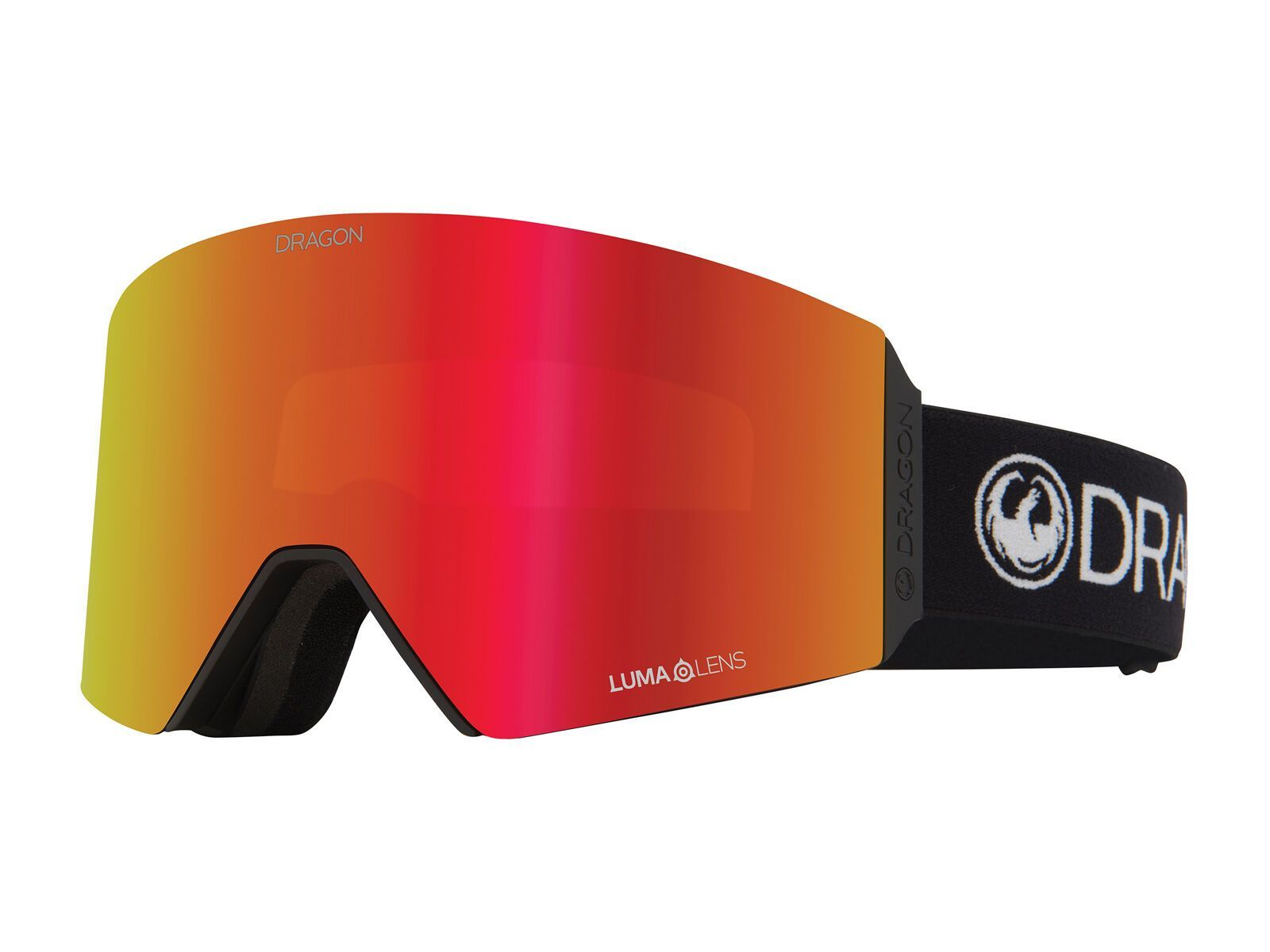 Dragon RVX OTG inkl. WS, comp/Lens: lumalens red ion - Skibrille 437347656003