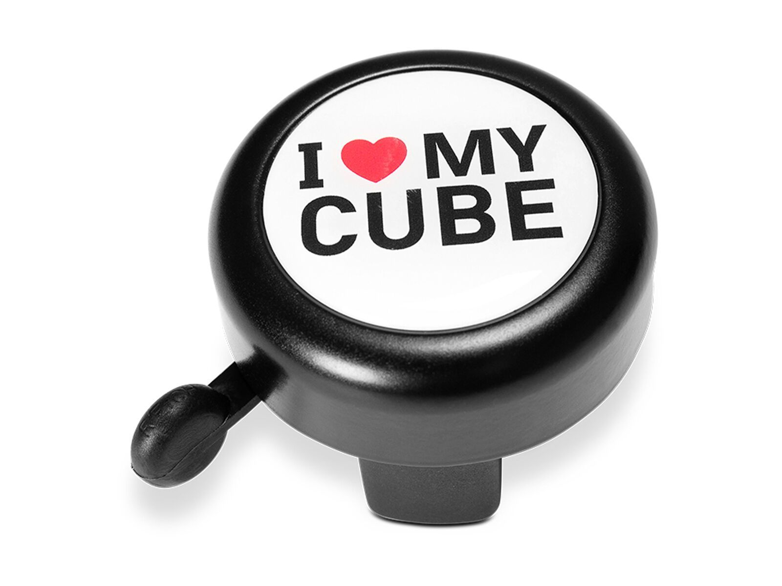 Cube Fahrradklingel I Love My Cube, black´n´white´n´red 150860000