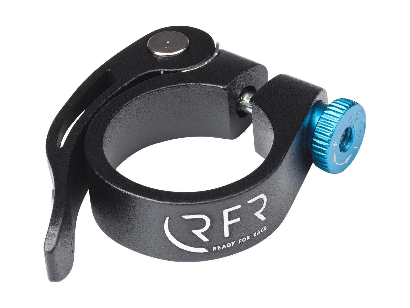 Cube RFR Sattelklemme mit Schnellspanner black´n´blue 34,9 mm 134550000