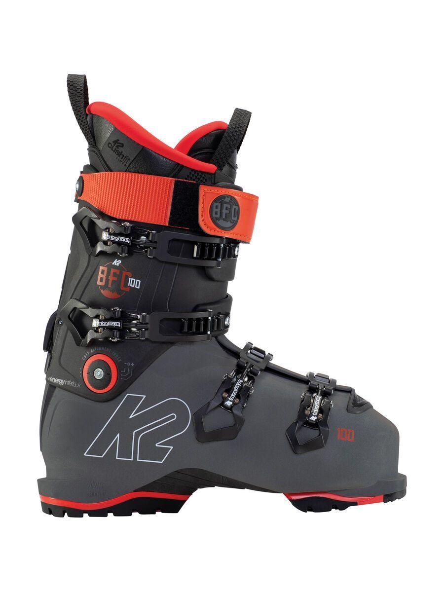 K2 SKI B.F.C. 100 GripWalk 2021, grey-red - Skiboots, Größe 30.5 // 48 10D2201.1.G.305
