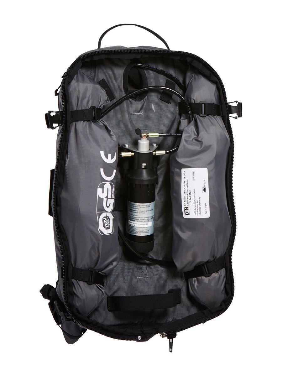ABS s.Light Base Unit Compact ohne Auslöseeinheit, rock grey - Lawinenrucksack SLB01RG