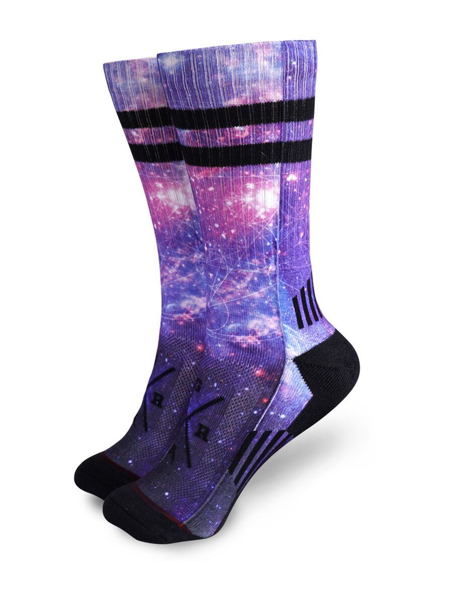 Loose Riders Technical Socks Cosmic multicolor Unisize LR-ASO-19014-NCL