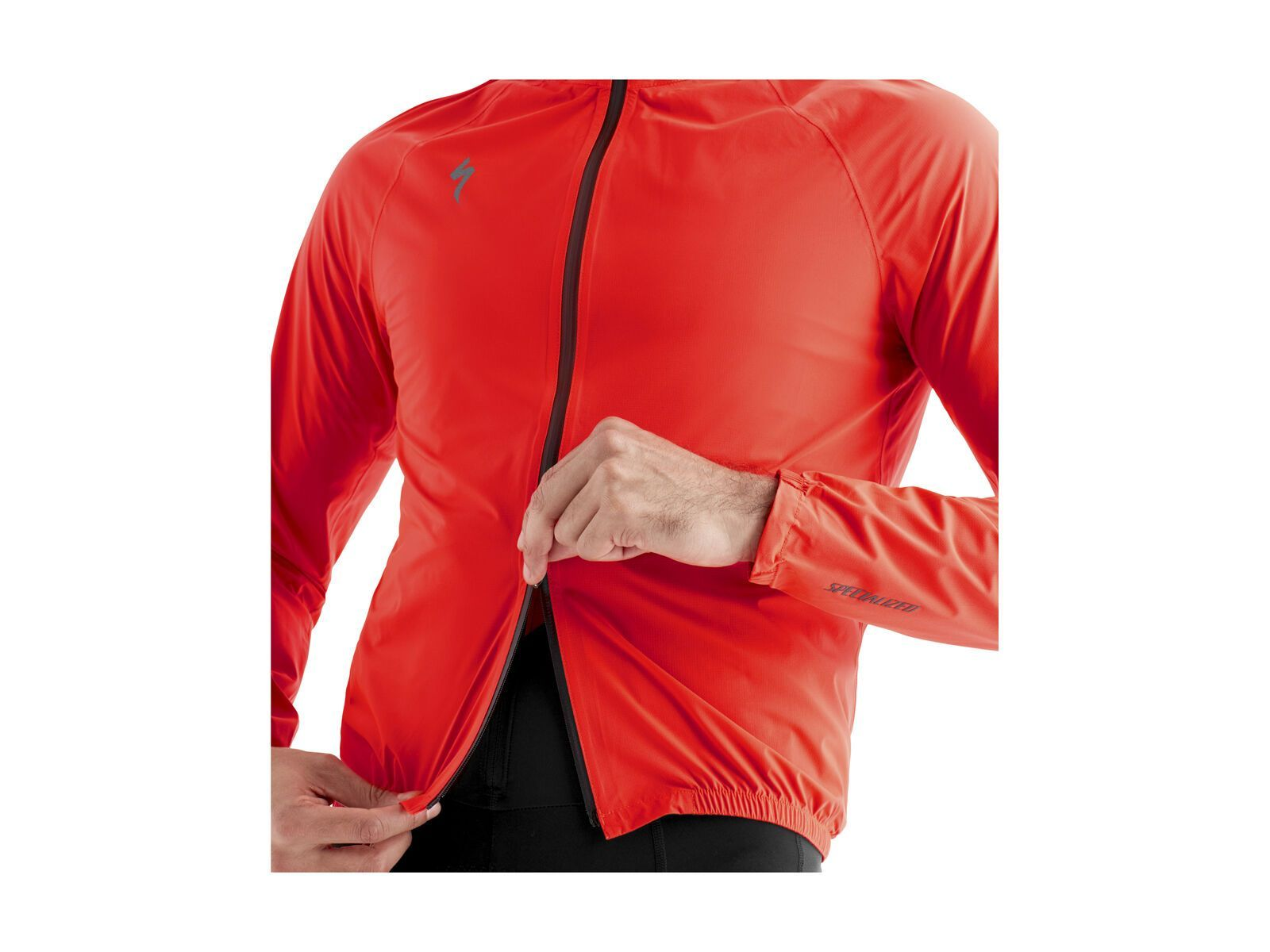 Specialized Deflect H2O Pac Jacket, rocket red | Bild 4