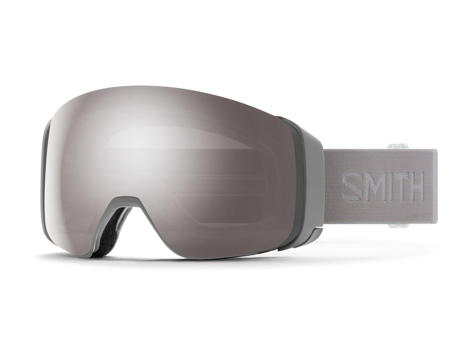 Smith 4D Mag inkl. WS, cloud grey/Lens: cp sun platinum mir - Skibrille M007322R6995T