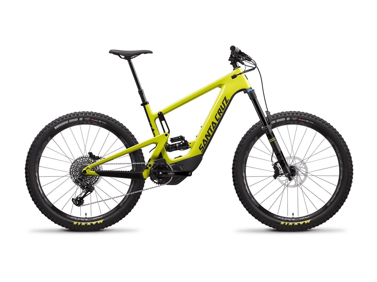 Santa Cruz Heckler CC S yellowjacket and black 2020 M // 40.5 cm D637098026