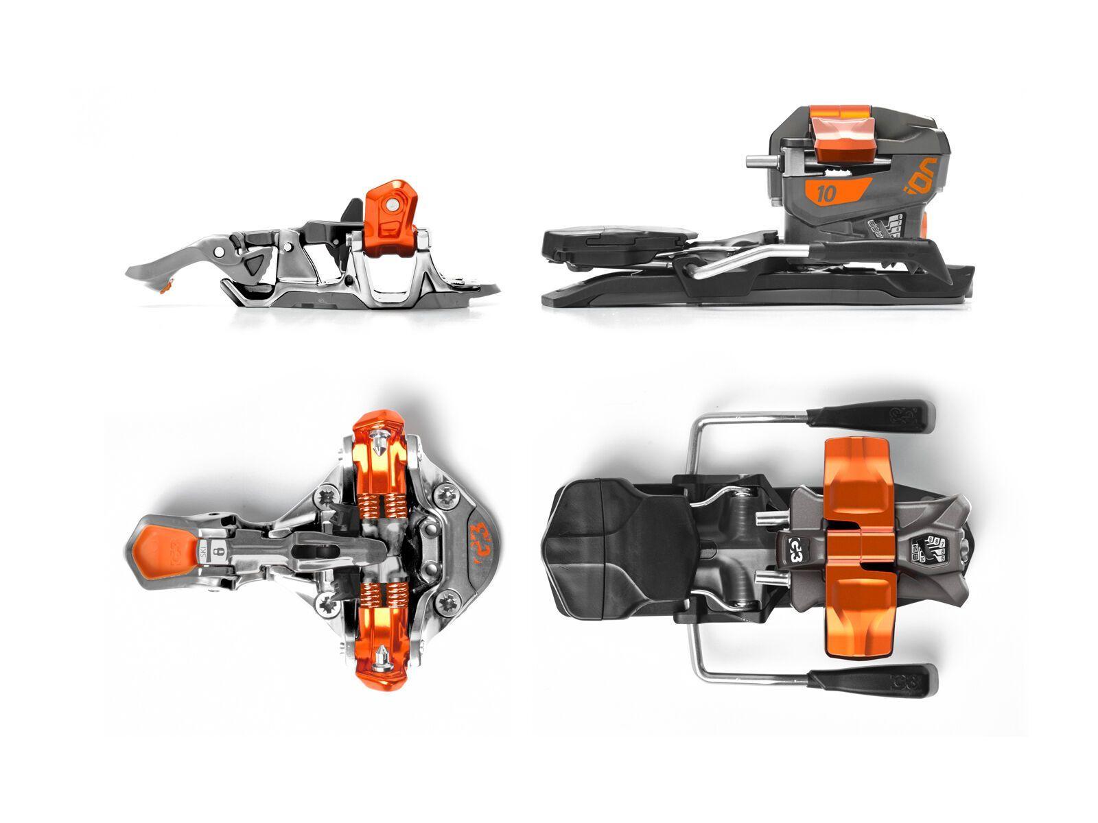 G3 Ion 10 85 mm - Skibindung 2868-6292
