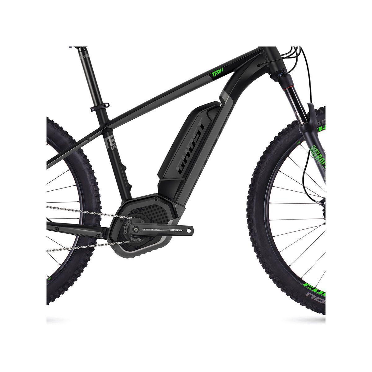 Ghost Hybride Teru B7.7+ AL, black/gray/neon green   Bild 3