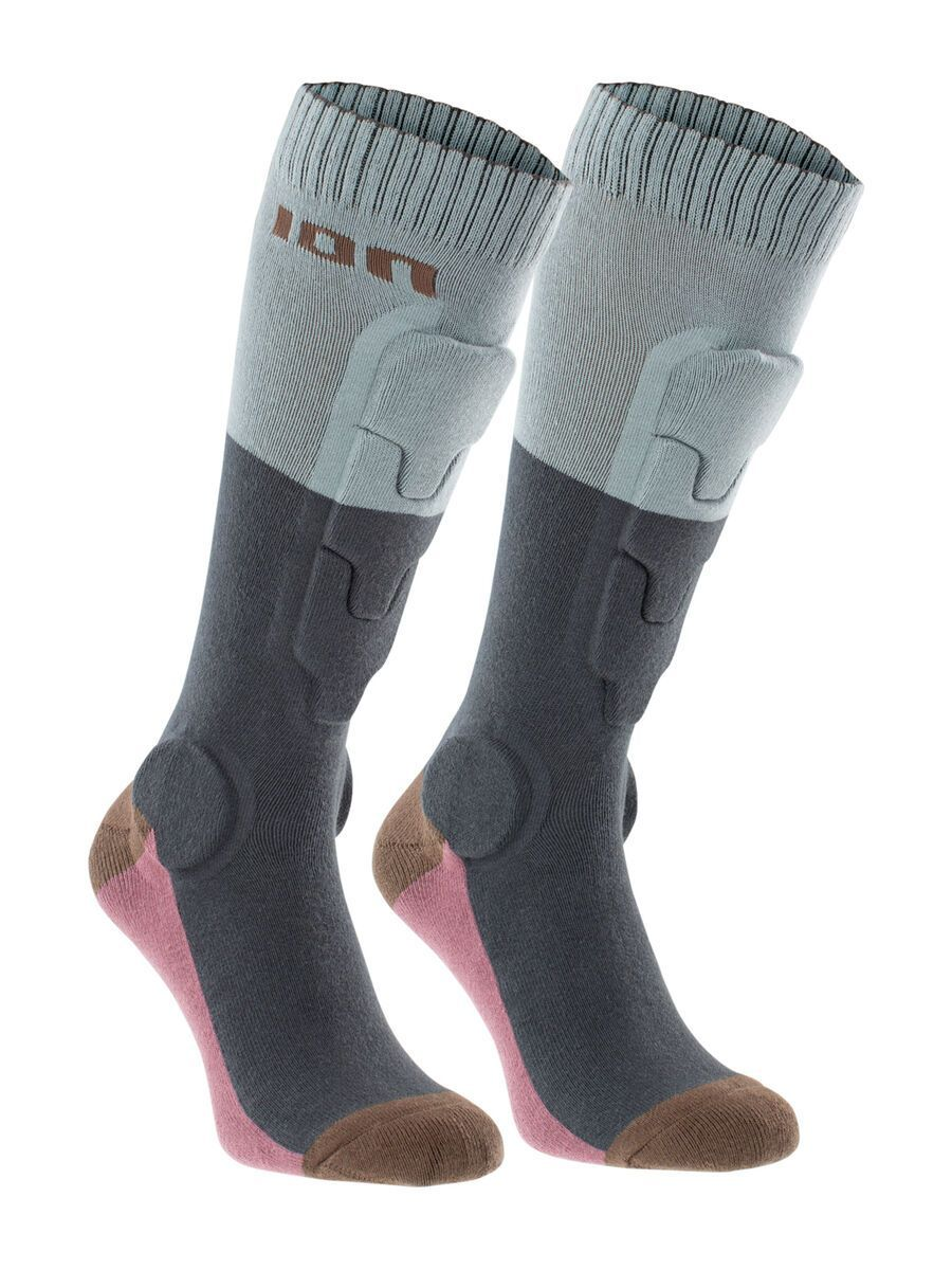 ION BD-Socks 2.0, thunder grey - Radsocken, Größe 39-42 47700-5921-191-thunder-grey-39-42