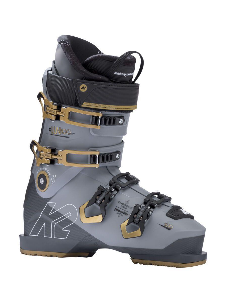 K2 SKI Luv 100 MV, grau gold - Skiboots, Größe 22.5 // 36 10C2401.1.1.225