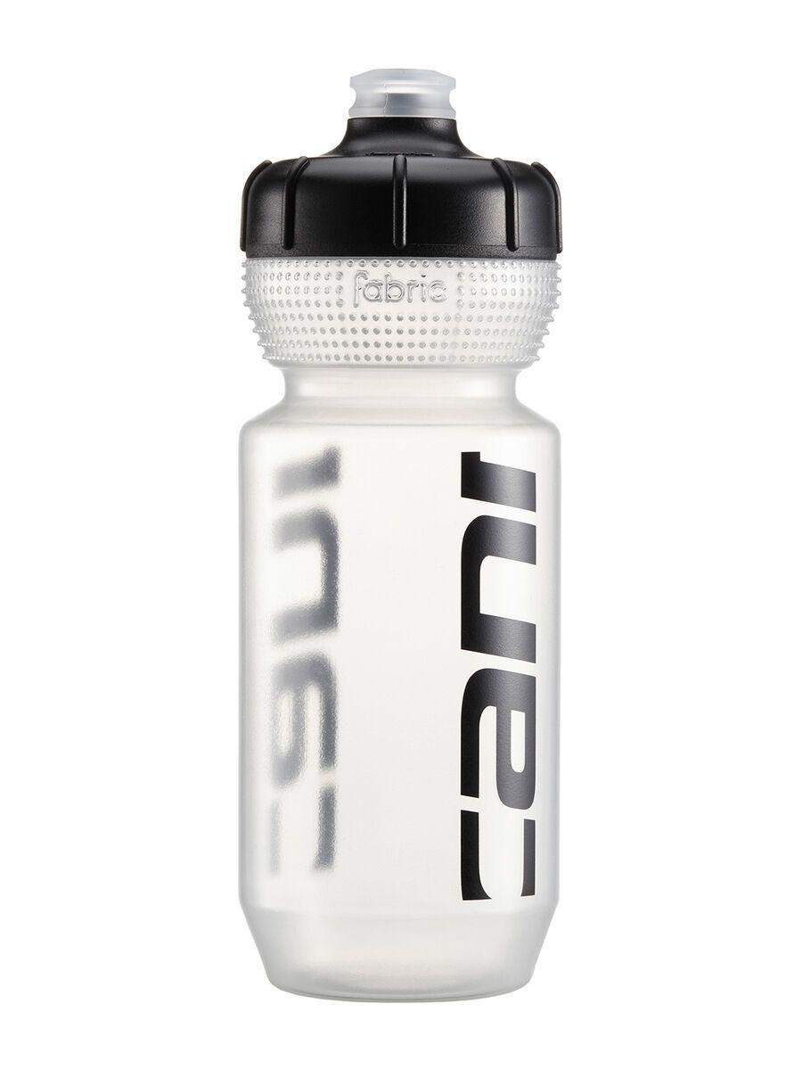 Cannondale Logo Bottle 600 ml, clear/black - Trinkflasche CP5308U0160