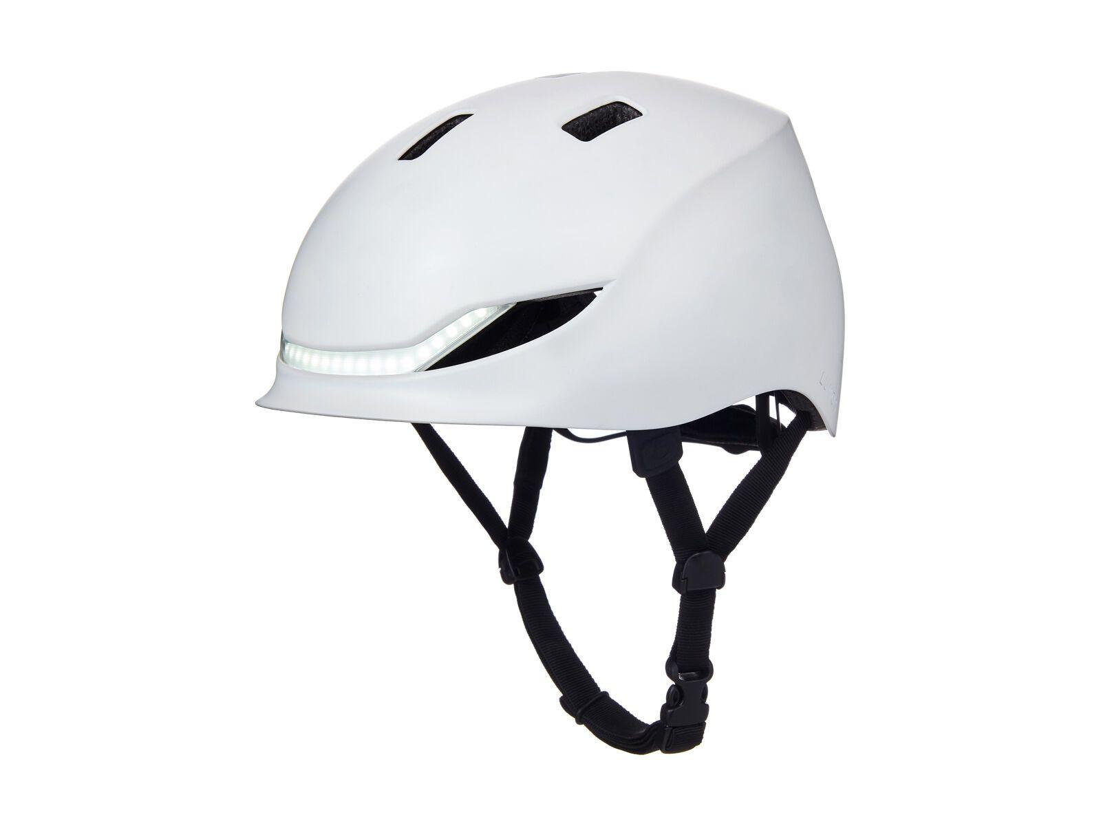 Lumos Street Helmet with MIPS, jet white - Fahrradhelm, Größe 54-61 cm 220005002
