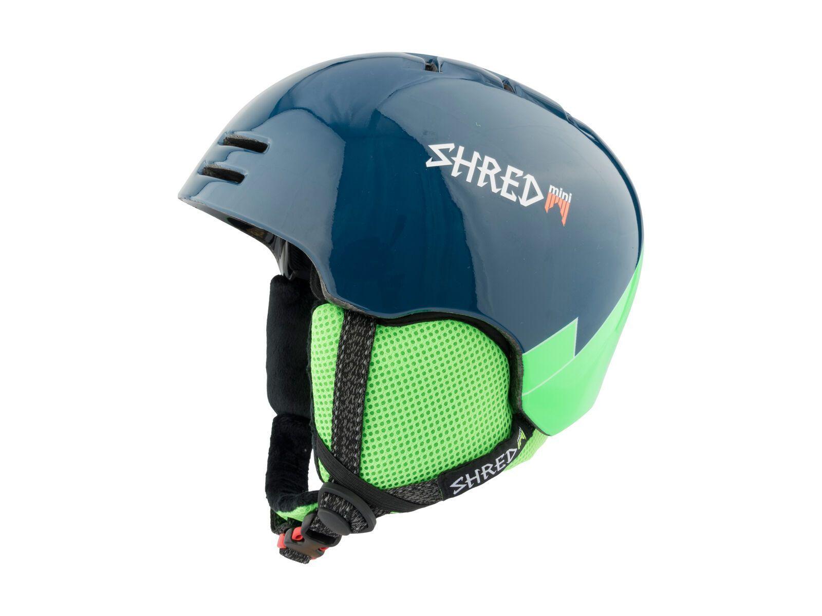 Shred Slam-Cap Mini, wee blue green - Skihelm, Größe S // 52-55 cm DHESLCG52-S