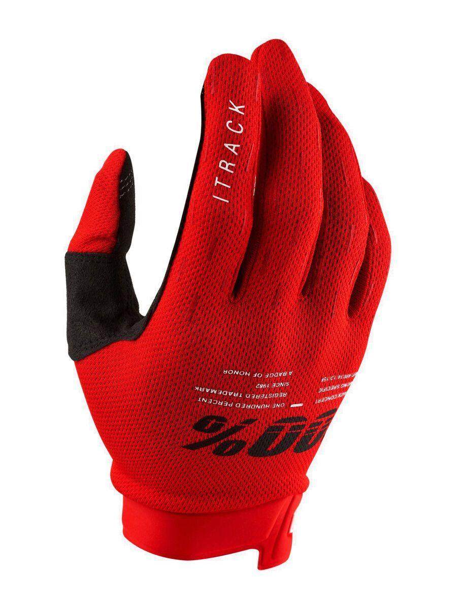 100% iTrack Glove, red - Fahrradhandschuhe, Größe L HU-GLO-0052/13/L