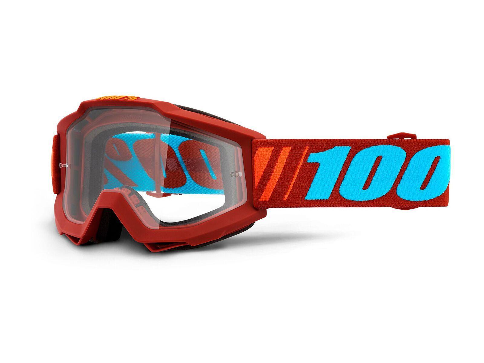 100% Accuri, dauphine/Lens: clear - MX Brille HU-GOG-0021-unis-1181-Dauphine