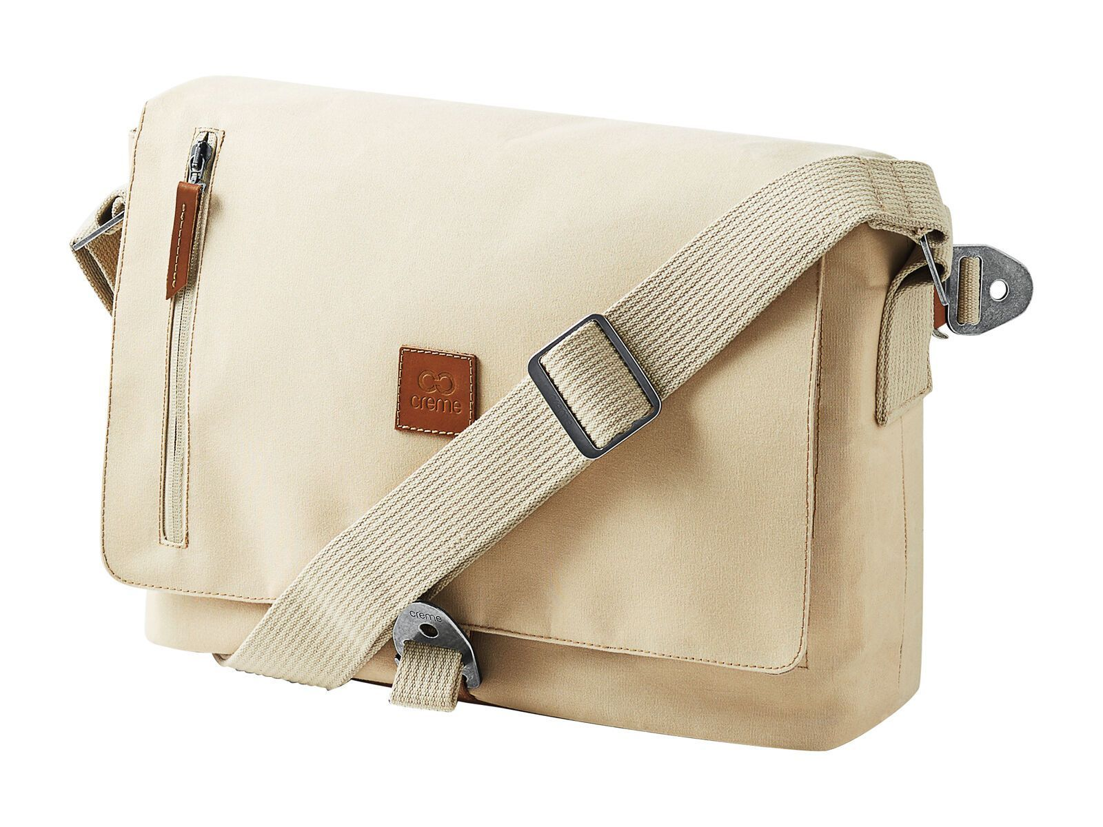 Creme Cycles Messenger Bag, creme beige CR-BAG-0005-nos-620-creme-beige