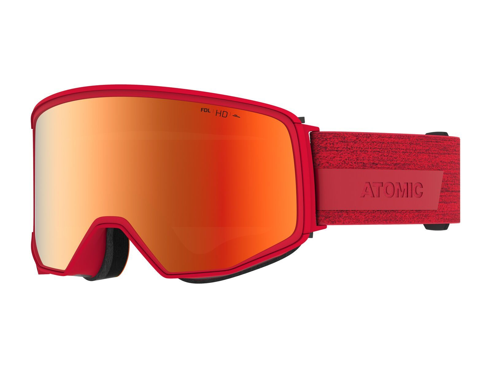 Atomic Four Q HD inkl. WS, red/Lens: red hd - Skibrille AN5105962