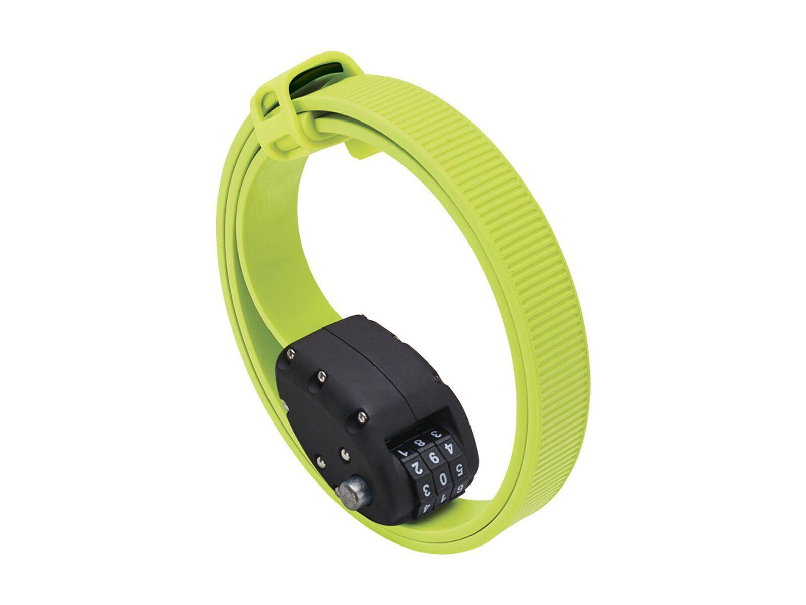 Otto DesignWorks Ottolock Cinch Lock - 76 cm, flash green - Fahrradschloss 202042