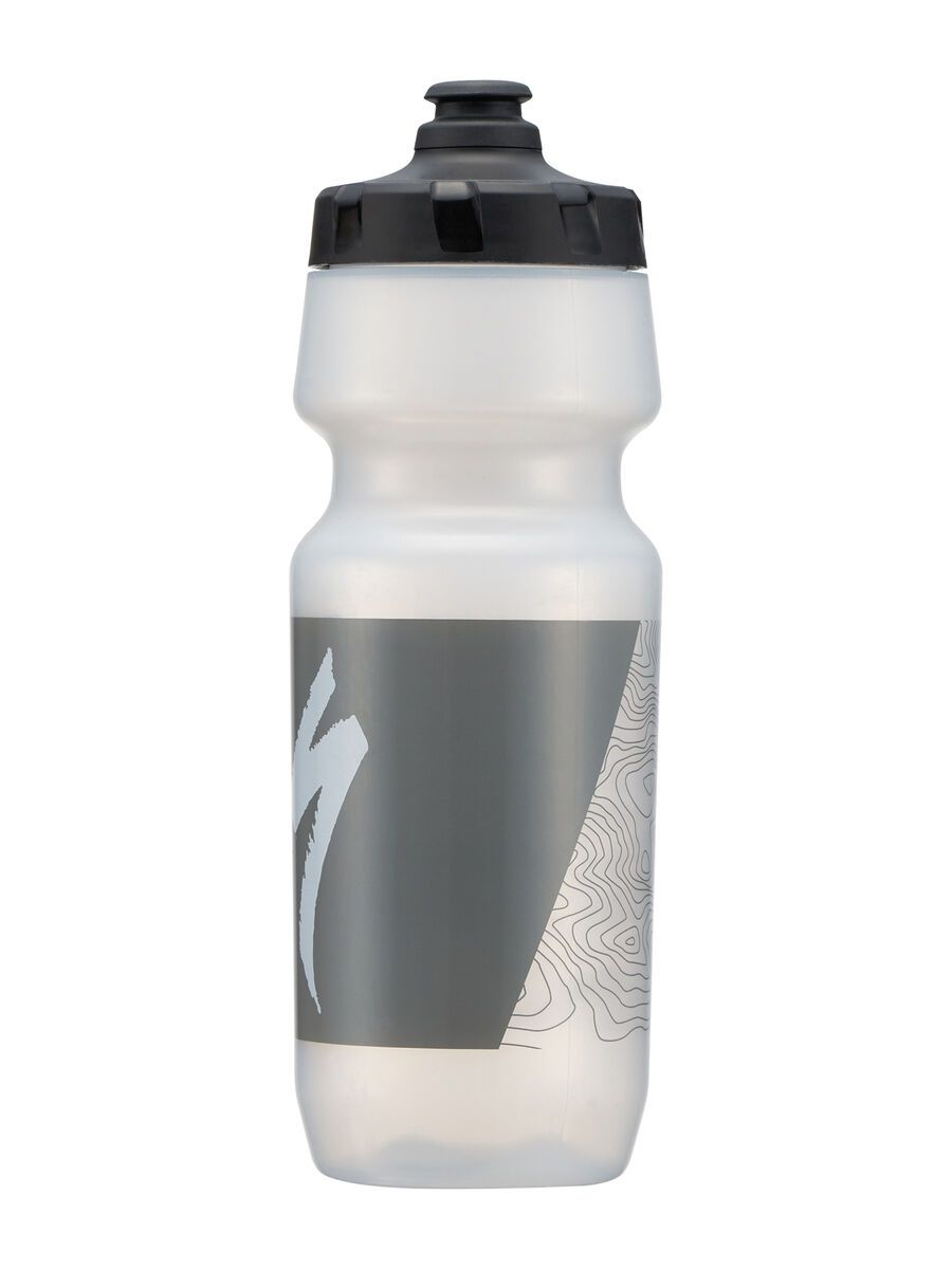 Specialized Big Mouth 0,7 L, transl./grey topo block - Trinkflasche 44420-2451