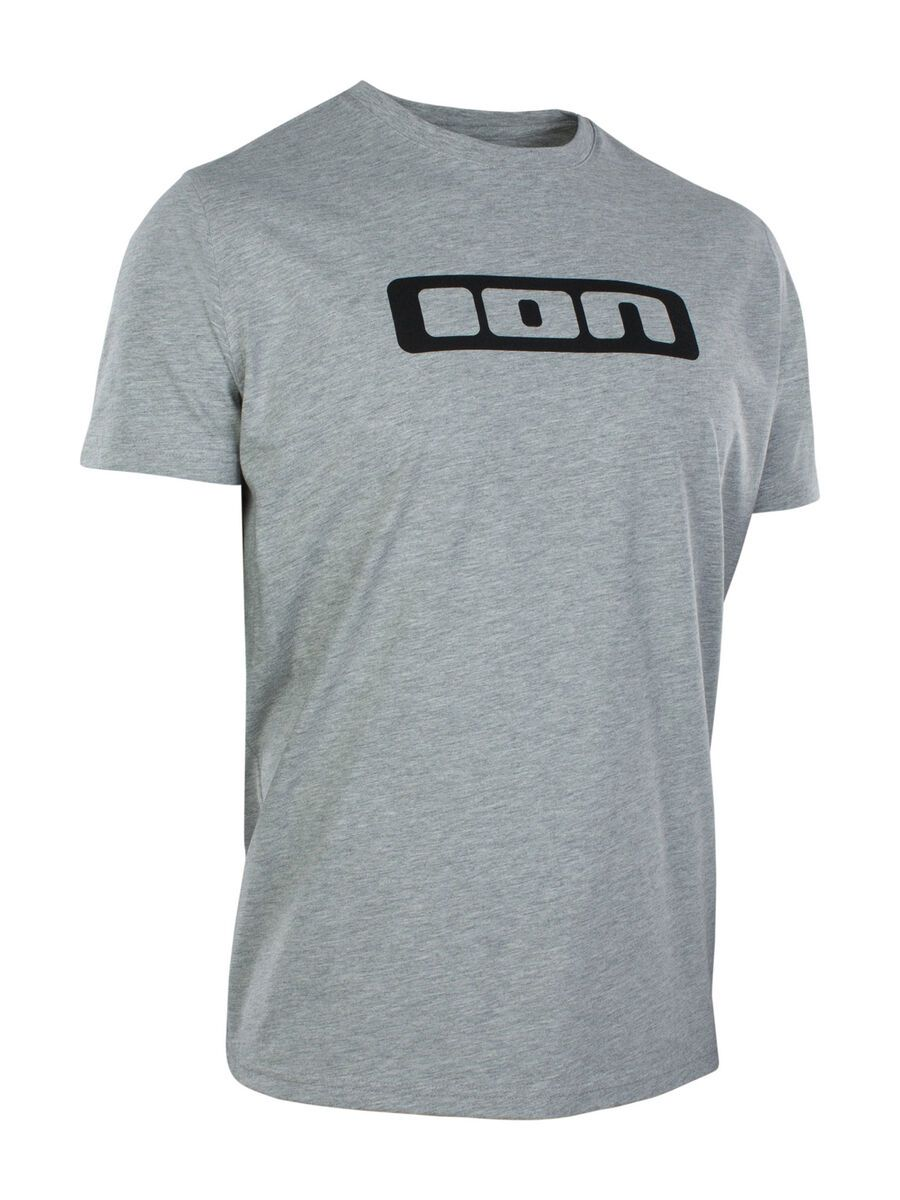 ION Tee SS Logo grey melange XL 46202-5000-156-grey-melange-54/XL