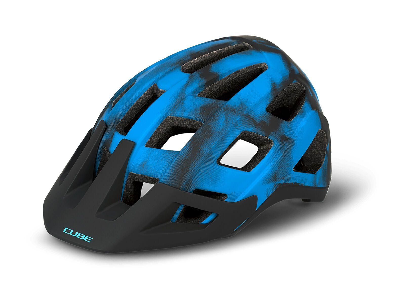 Cube Helm Badger blue M // 56-59 cm 162410287