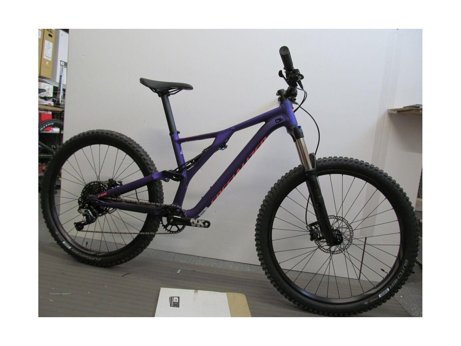 *** 2. Wahl *** Specialized Women's Stumpjumper ST Alloy 27.5 2019, plum purple/acid lava - Mountainbike | Größe M // 41 cm | Bild 2