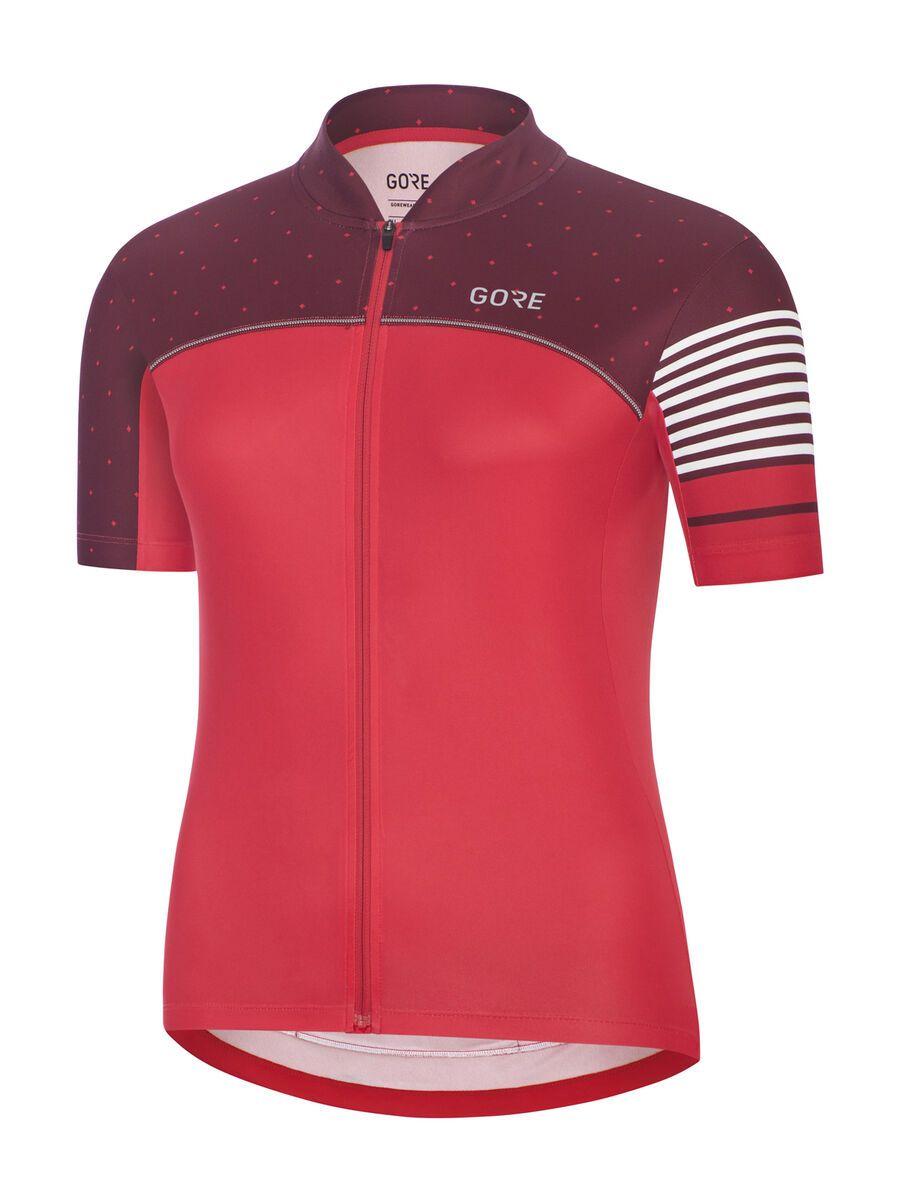 Gore Wear C5 Damen Trikot, pink/red - Radtrikot, Größe XS 100487AKAJ02