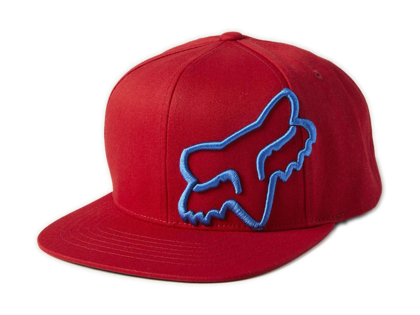 Fox Headers Snapback Hat red 24948-003-OS