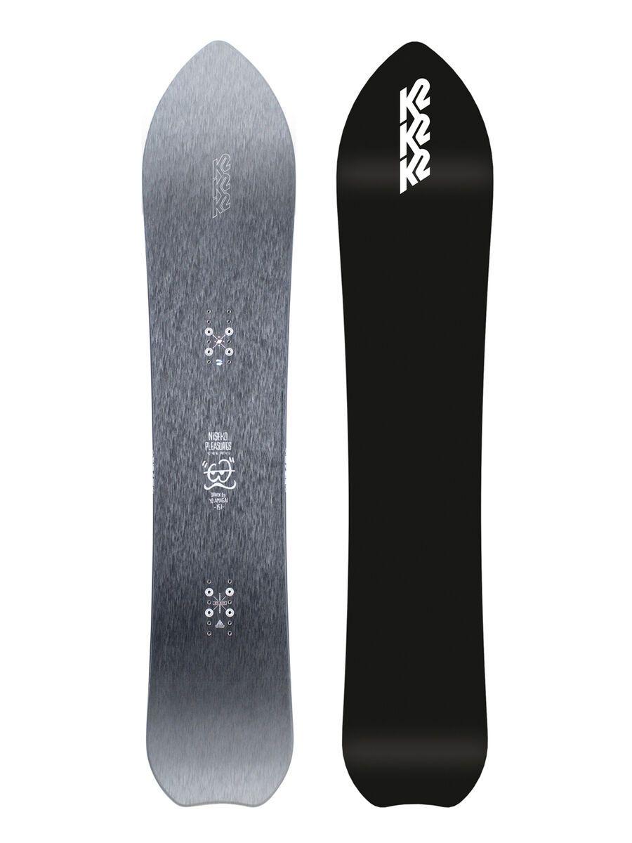 K2 Niseko Pleasures 2021 - Snowboard, Größe 156 cm 11E0021.1.1.156