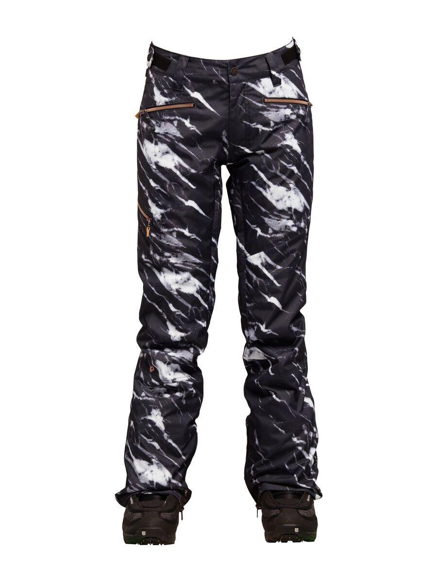 Nikita White Pine Pant, marble print - Snowboardhose, Größe M NGWBWHI-MAR-MD