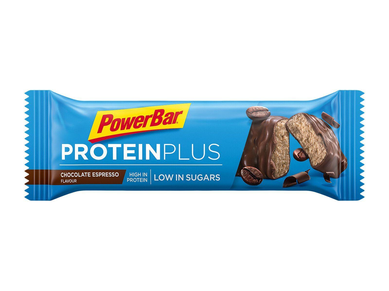 PowerBar Protein Plus Low Sugar - Chocolate Espresso - Proteinriegel 21500600