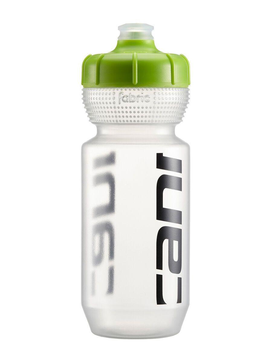 Cannondale Logo Bottle 600 ml, clear/green - Trinkflasche CP5308U0360