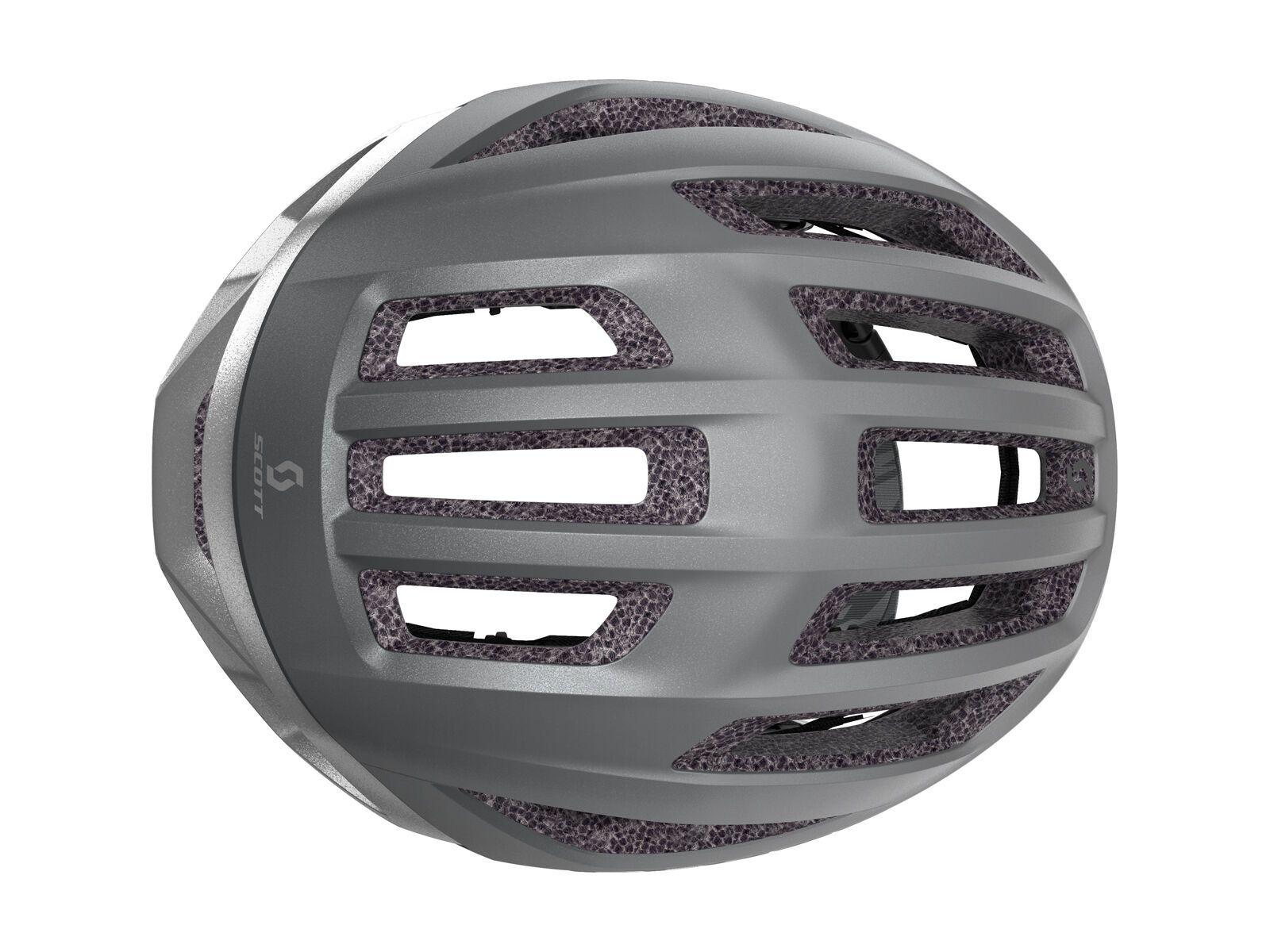 Scott Centric Plus Helmet, vogue silver/reflective | Bild 4