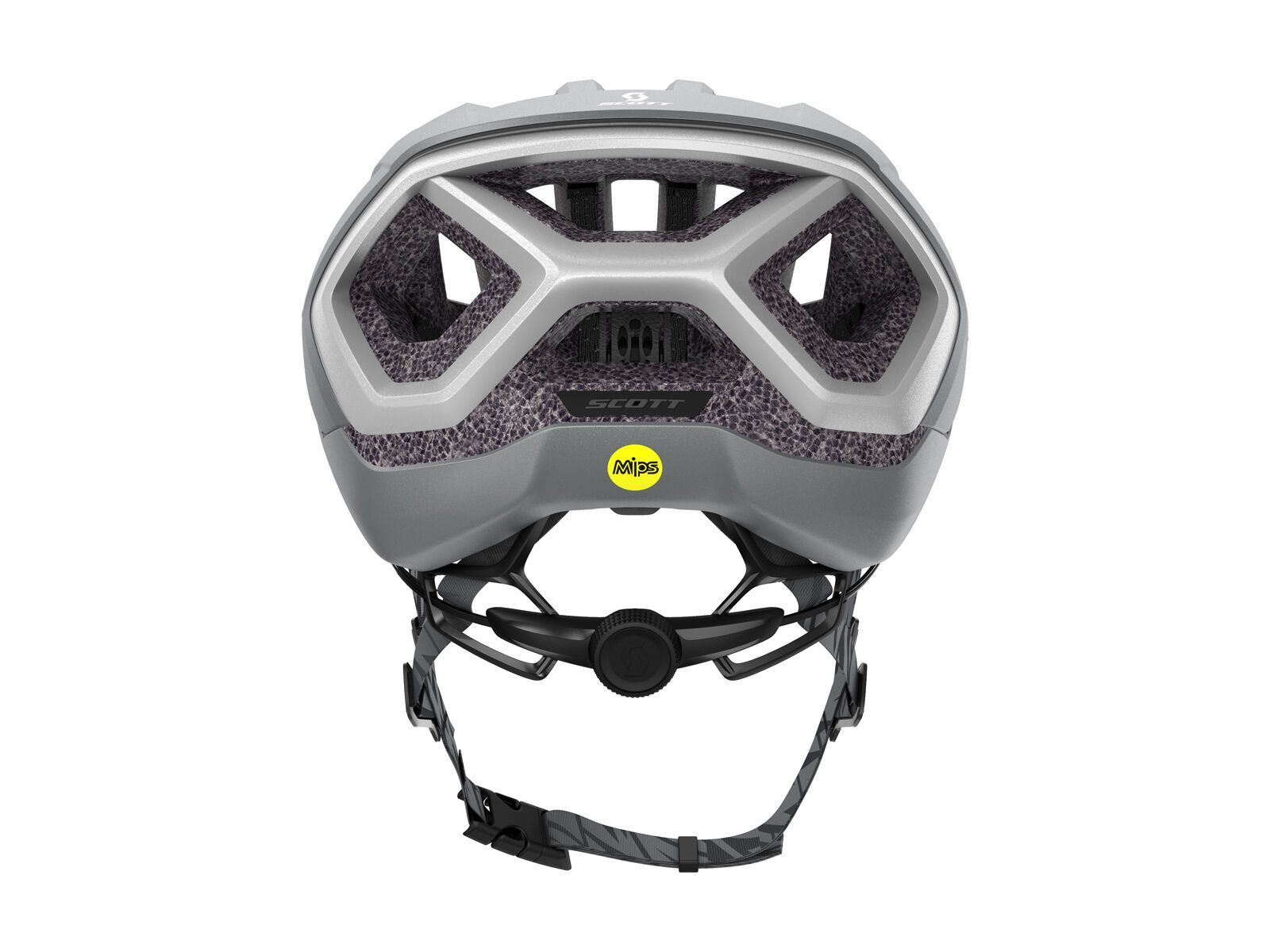 Scott Centric Plus Helmet, vogue silver/reflective | Bild 3