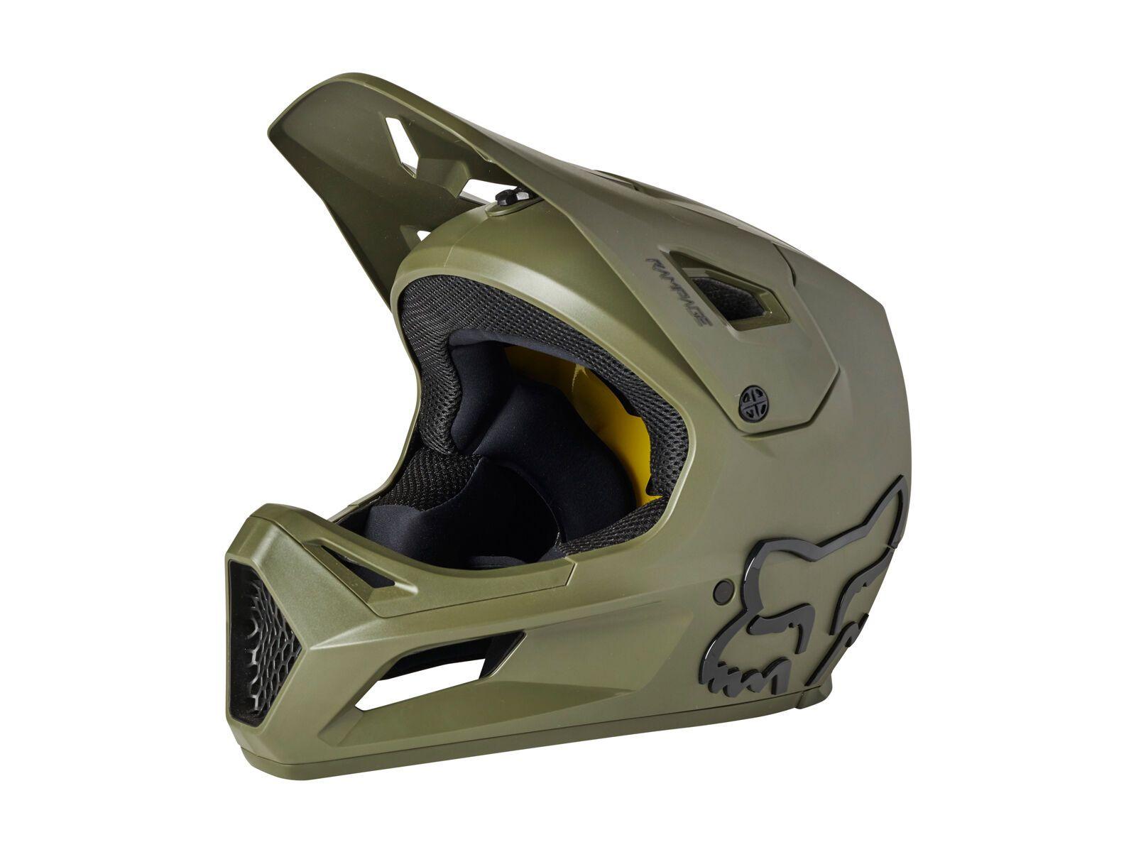 Fox Rampage Helmet olive green XL // 60-62 cm 27509-099-XL