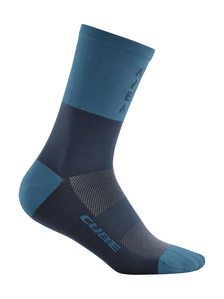 Cube Socke High Cut ATX, blue - Radsocken, Größe 36-39 118120164