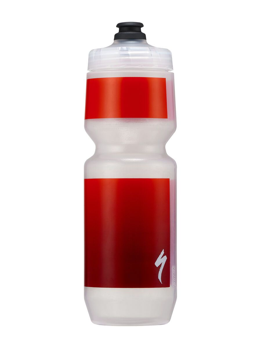 Specialized Purist MoFlo 26 oz, transl./red gravity - Trinkflasche 44220-2630