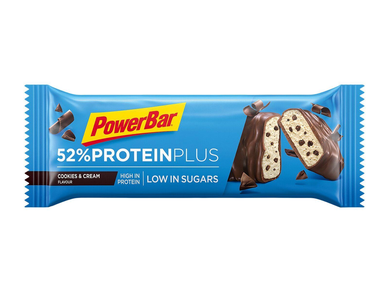 PowerBar Protein Plus 52% - Cookies & Cream - Proteinriegel 21587450