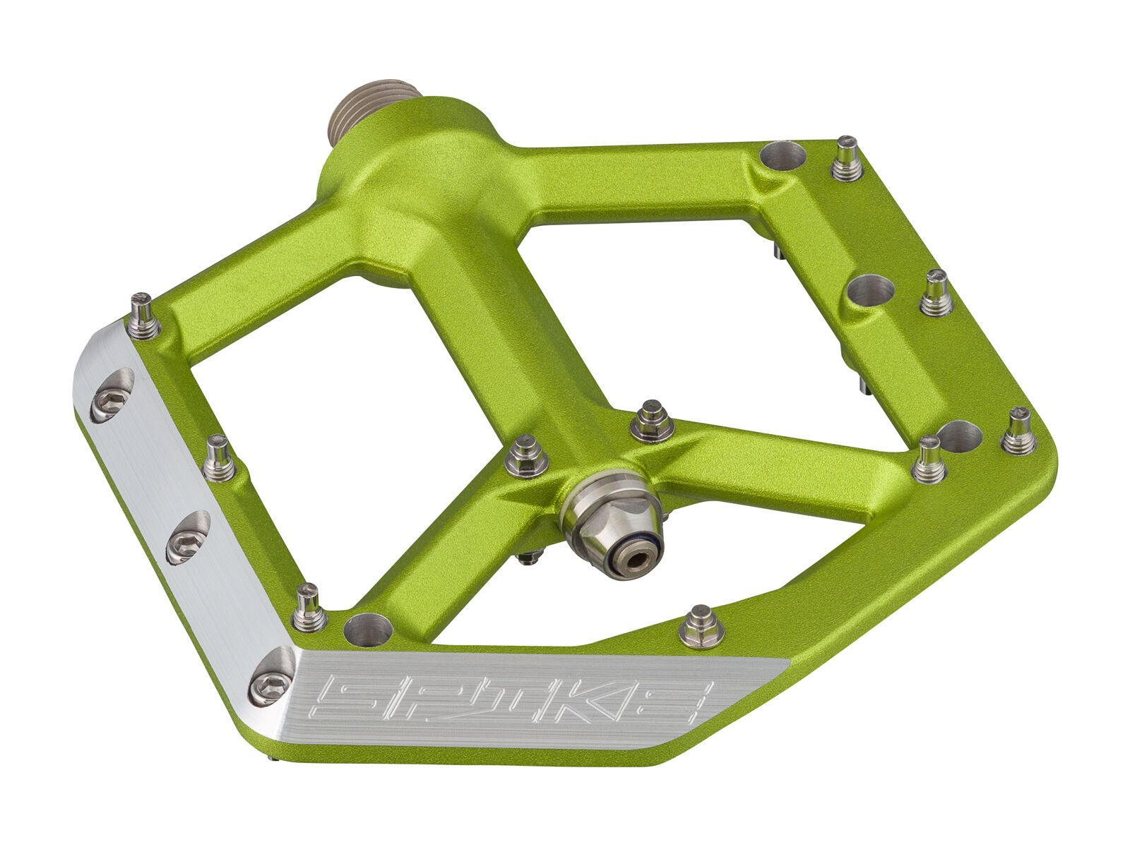 Spank Spike Pedals, emerald green SP-PED-0012-nos-386-emerald-green