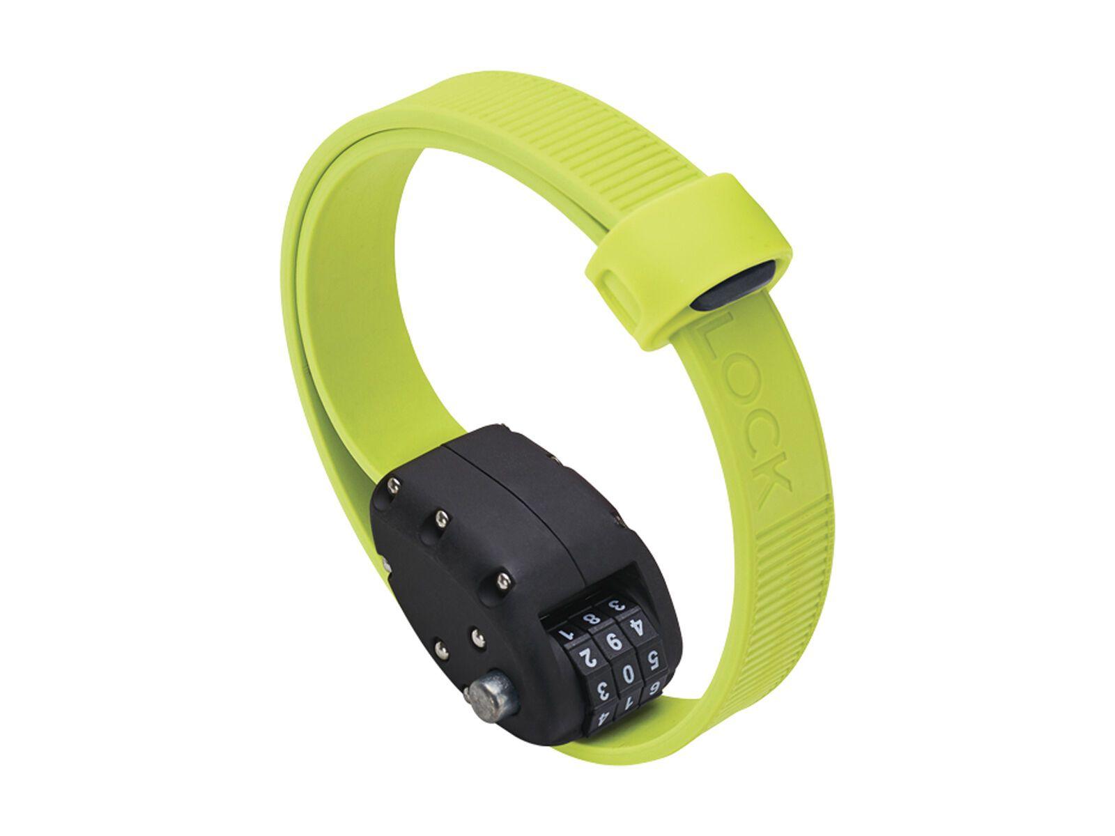 Otto DesignWorks Ottolock Cinch Lock - 46 cm, flash green - Fahrradschloss 202045