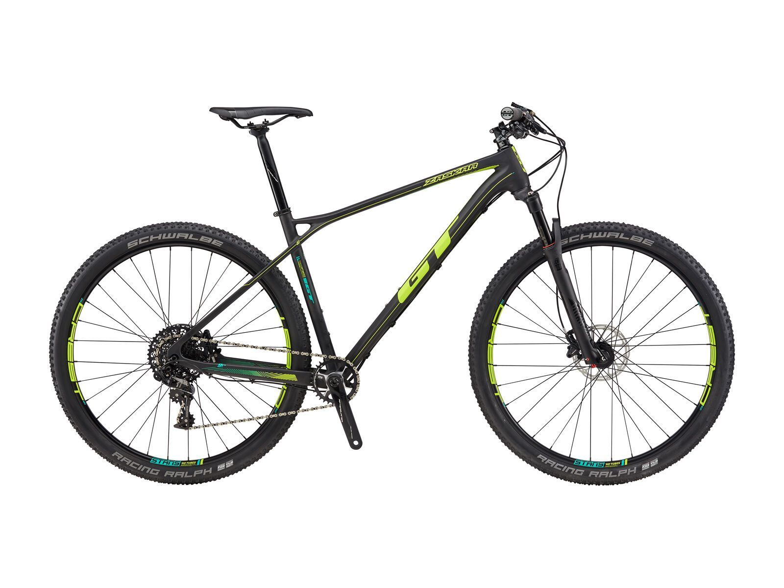 GT Zaskar Carbon Pro 9R, raw/yellow | Bild 1