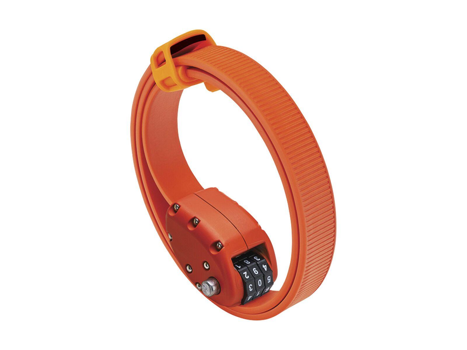 Otto DesignWorks Ottolock Cinch Lock - 76 cm, orange - Fahrradschloss 202043