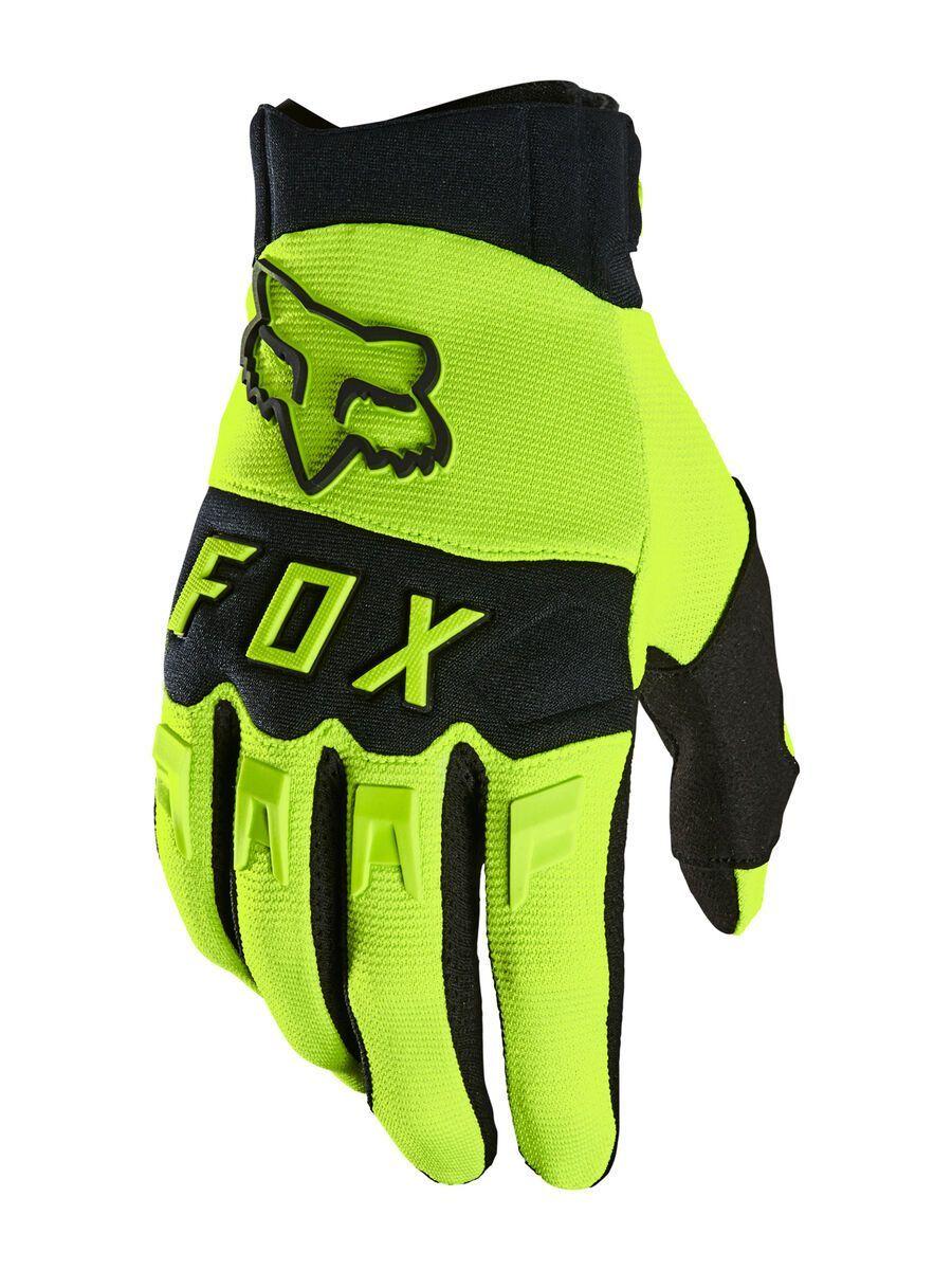 Fox Dirtpaw Glove fluorescent yellow M 25796-130-M